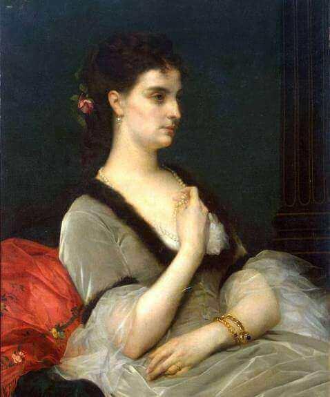 Портрет Елизавета Андреевна Воронцова-Дашкова.