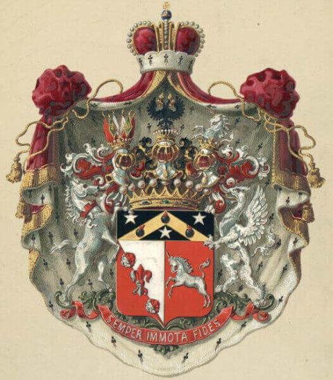 Изображение герба Воронцова - графа Шувалова