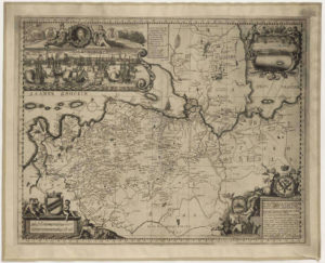 Карта Ингерманландии 1727